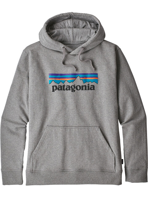 Patagonia M's P-6 Logo Uprisal Hoody Gravel Heather